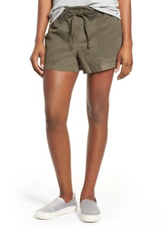 Kenneth Cole New York Drawstring Cotton Shorts