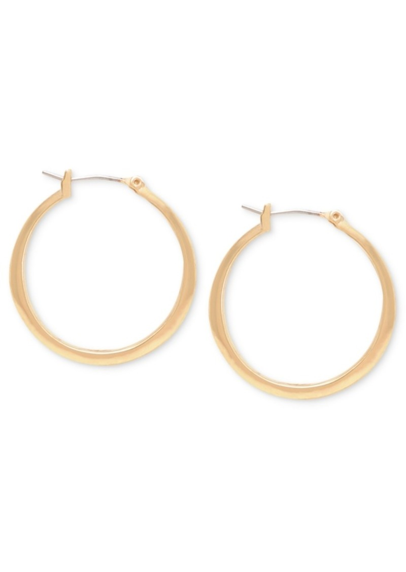 Kenneth Cole New York Small Gold Hoop Earring