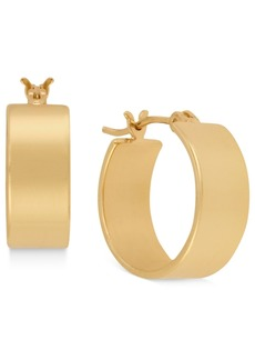 Kenneth Cole New York Small Gold Huggie Small Hoop Earrings