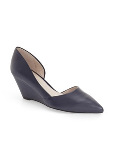 Kenneth Cole New York 'Ellis' Half d'Orsay Wedge Pump (Women)