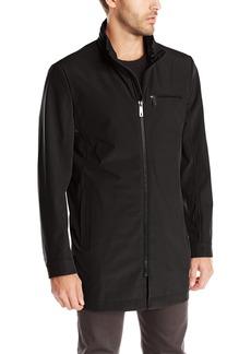 Kenneth Cole New York Men's Mid Length Softshell Coat