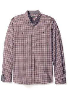 Kenneth Cole New York en's Long Sleeve Button Down Collar Shirt