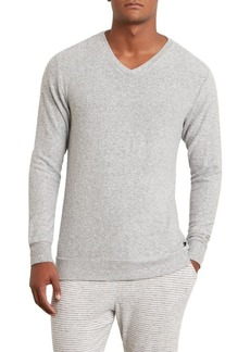 Kenneth Cole New York en's Long Sleeve V-Neck lightgrey Heather