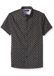 Kenneth Cole New York Short-Sleeve Geometric Print Shirt