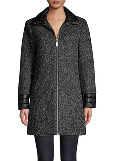 Kenneth Cole New York Essential Full-Zip Coat