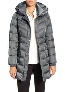 Kenneth Cole New York Hooded Down Coat