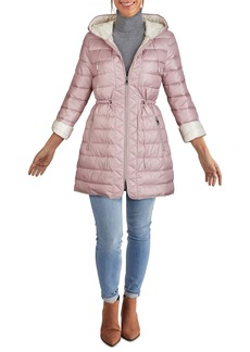 Kenneth Cole New York Hooded Packable Quilted Jacket