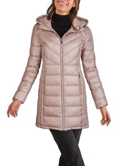 Kenneth Cole New York Hooded Puffer Coat
