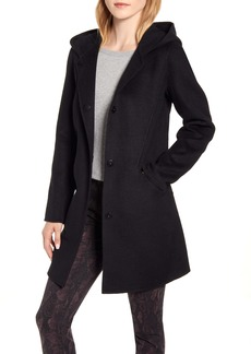 Kenneth Cole New York Wool Blend Duffle Coat