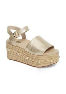 Kenneth Cole New York Indra Espadrille Platform Sandal (Women)