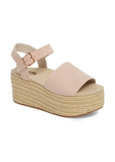 Kenneth Cole New York Indra Espadrille Platform Sandal (Women)
