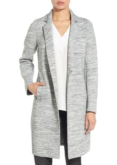 Kenneth Cole New York Jersey Knit Reefer Coat
