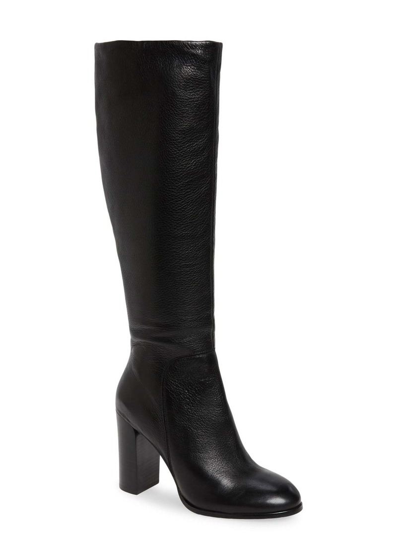Kenneth Cole New York Justin Water Resistant Knee High Boot (Women)