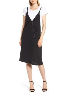 Kenneth Cole New York Knit V-Neck Dress