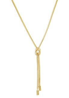 Kenneth Cole New York Knot Y-Shaped Necklace