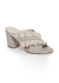 Kenneth Cole New York Laken Ruffle Cross Strap Sandal (Women)