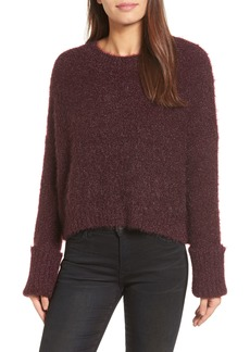 Kenneth Cole New York Large Cuff Crop Sweater