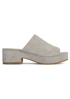 Kenneth Cole New York Layla Platform Suede Sandals