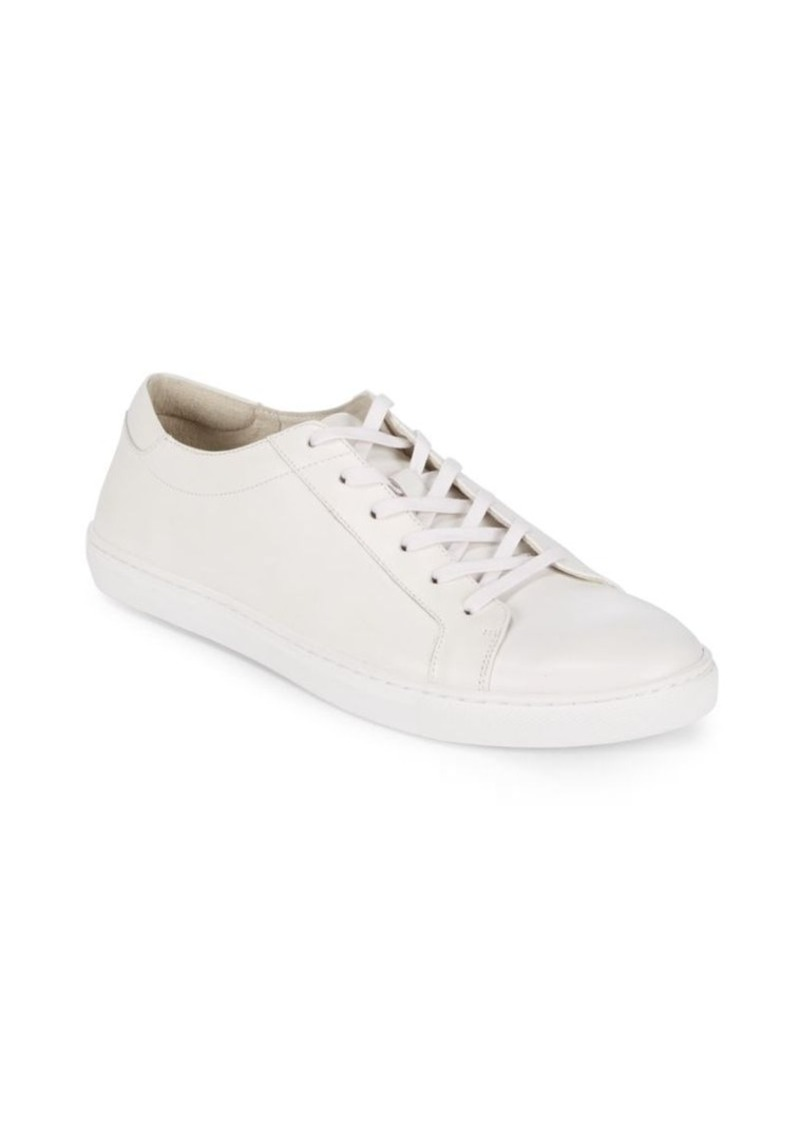 4700d0e0922 Kenneth Cole Kenneth Cole Leather Cap Toe Sneakers