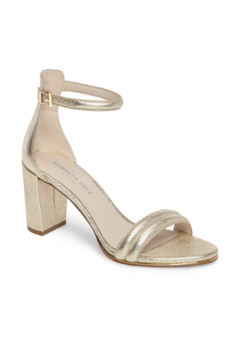 Kenneth Cole New York 'Lex' Ankle Strap Sandal (Women)