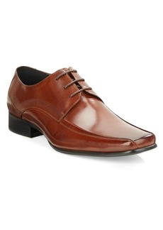 Kenneth Cole New York Magic Place Leather Bicycle-Toe Derby Shoes