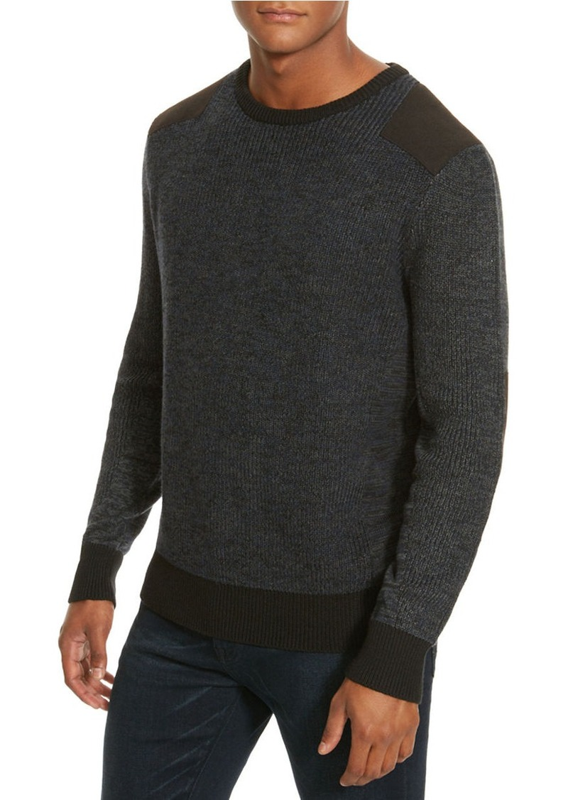 KENNETH COLE NEW YORK Marled Crewneck Sweater