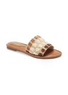 Kenneth Cole New York Mello Raffia Slide Sandal (Women)