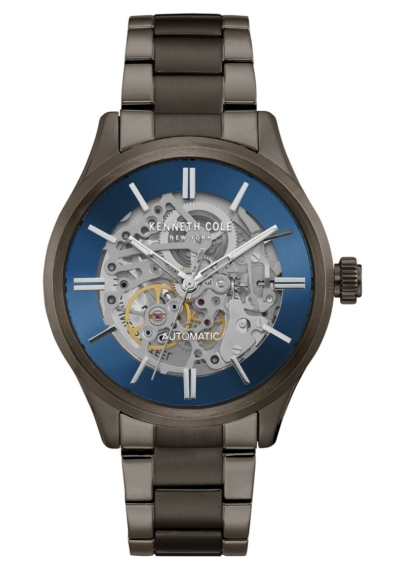 Kenneth Cole New York Men's Automatic Two-Tone Stainless Steel Bracelet Watch 44mm
