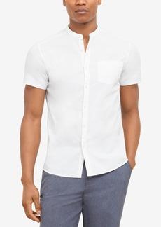 Kenneth Cole New York Men's Band-Collar Shirt