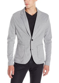 Kenneth Cole New York Men's Bonded Blazer Heather Grey