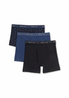 Kenneth Cole New York Men's Boxer Brief Set Basic 3 Pack  M