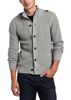 Kenneth Cole New York Men's Button Front Sweater