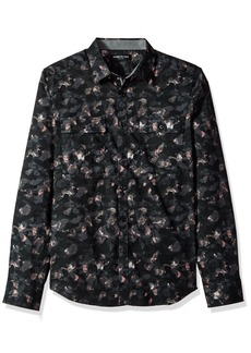 Kenneth Cole New York Men's Camo Print Shirt