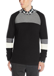 Kenneth Cole New York Men's Color Block Crew