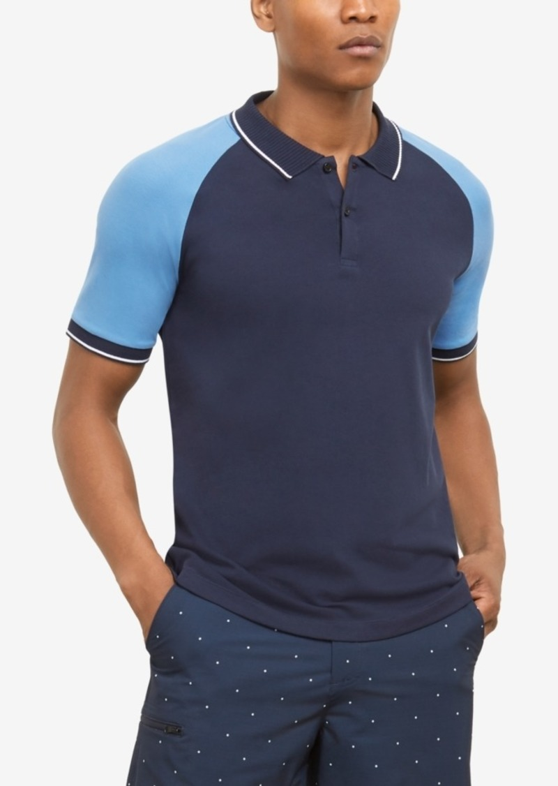 Kenneth Cole New York Men's Colorblocked Polo