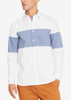 Kenneth Cole New York Men's Combo Stripe Shirt