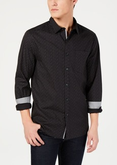 Kenneth Cole New York Men's Confetti Print Shirt