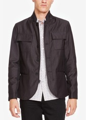 Kenneth Cole New York Men's Contemporary Pinstriped Jacket