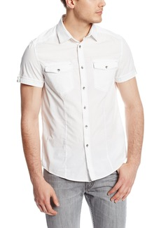 Kenneth Cole New York Men's Contrast Stitch Shirt