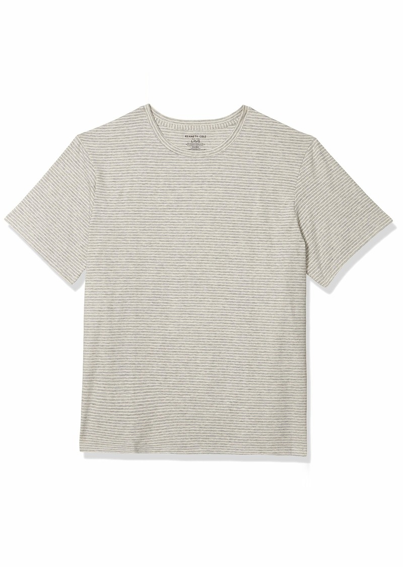 Kenneth Cole New York Men's Cotton Crew Neck T-Shirt  XL