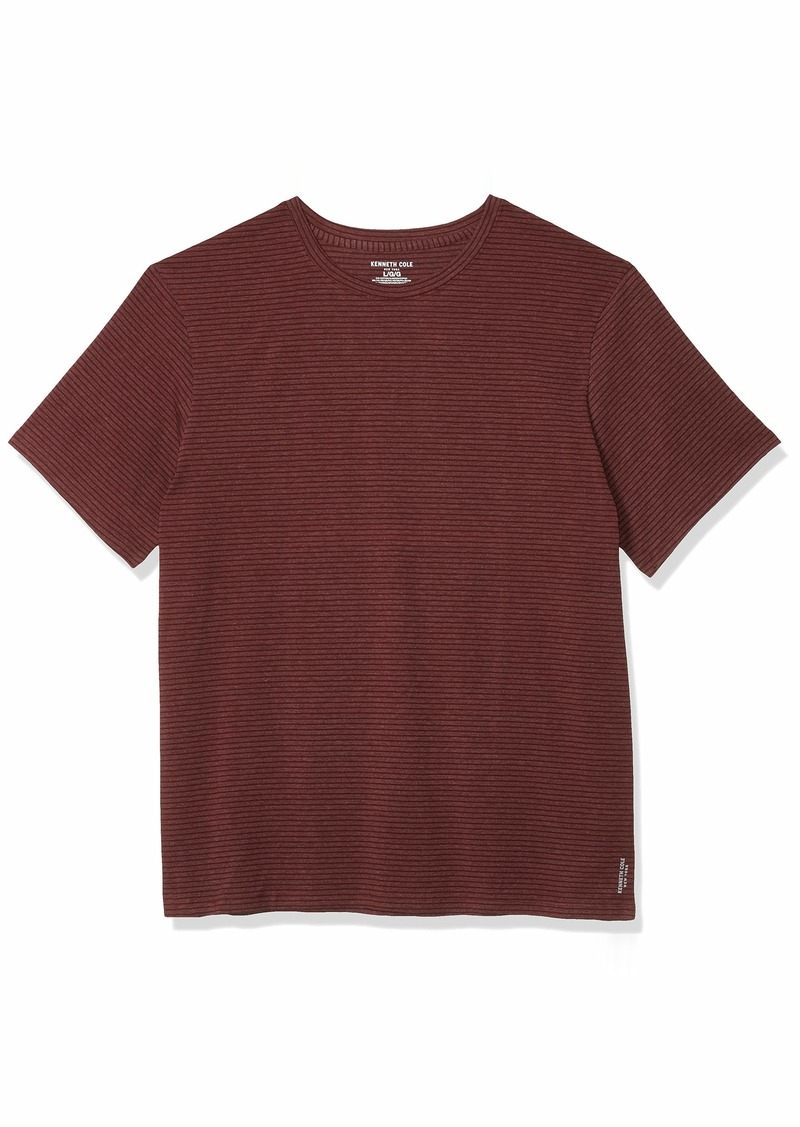 Kenneth Cole New York Men's Cotton Crew Neck T-Shirt  L