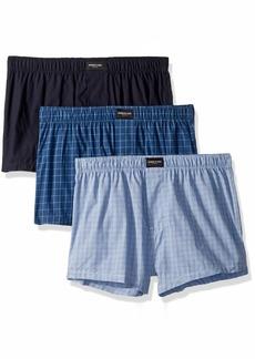 Kenneth Cole New York Men's Cotton Woven Boxer Underwear Multipack
