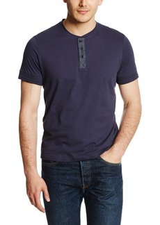 Kenneth Cole New York Men's Denim Trim Henley