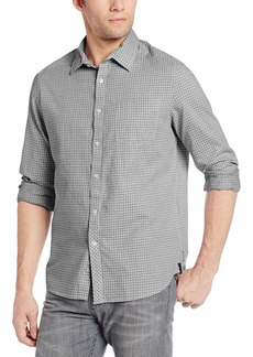 Kenneth Cole New York Men's Dobby Check Shirt