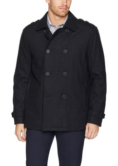 Kenneth Cole New York Men's Double Breasted Wool Jacket