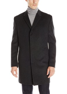 Kenneth Cole New York Men's Elan Wool Top Coat Fancy R