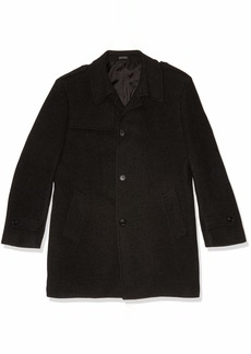 Kenneth Cole New York Men's Ember Top Coat Grey/red R