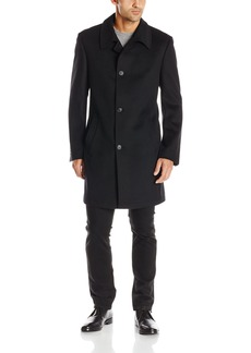 Kenneth Cole New York Men's Estes 36 Inch Overcoat Single Breasted