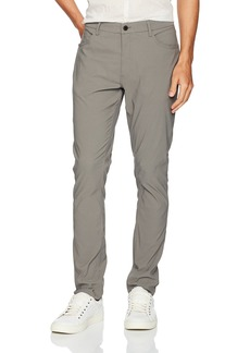Kenneth Cole New York Men's Five Pant with Side Pocket dim Grey