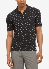 Kenneth Cole New York Men's Floral Graphic Polo